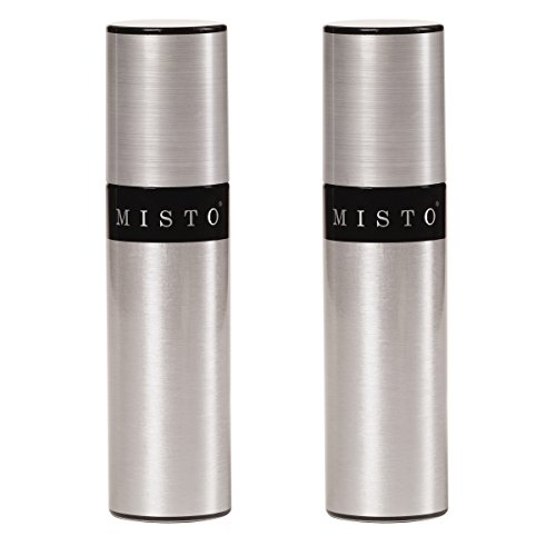 Misto Aluminum Bottle Oil Sprayer, Set of 2