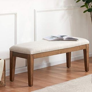 HUIMO Upholstered Entryway Bench