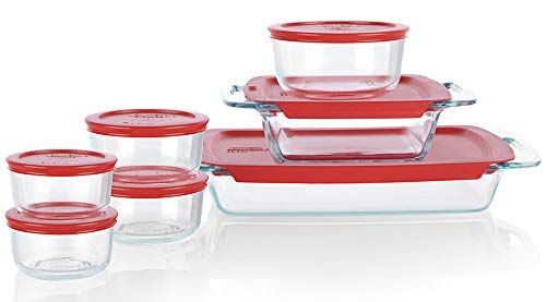 Glass Bakeware and Food Container Set