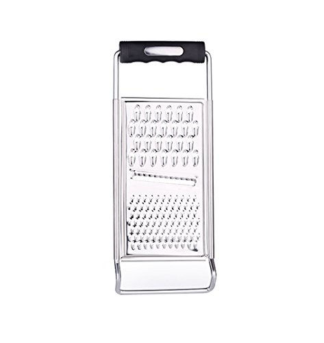 ZYluoke Kitchen Graters Cheese Grater,Ginger Grater & Lemon Zester Micro Blade Cover Stainless Steel Razor Sharp Teeth - High Performance - for Vegetables, Fruits, Cheese, Chocolate