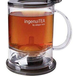 Adagio Teas IngenuiTEA 2 Bottom Dispensing Teapot, 16 oz.
