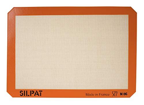 """Silpat Premium Non-Stick Silicone Baking Mat, Medium, 9-7/16"""" x 14-3/8"""""""