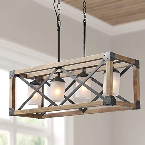 Linear Chandelier for Dining Room