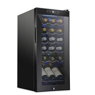 Schmecke 18 Bottle Compressor Wine Cooler Refrigerator w/Lock