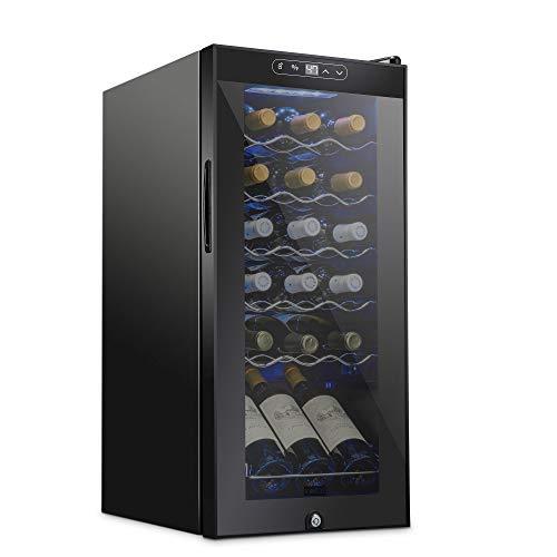 Schmecke 18 Bottle Compressor Wine Cooler Refrigerator w/Lock