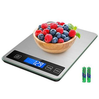 Digital Kitchen Scale with 1g Accuracy for Cooking Baking