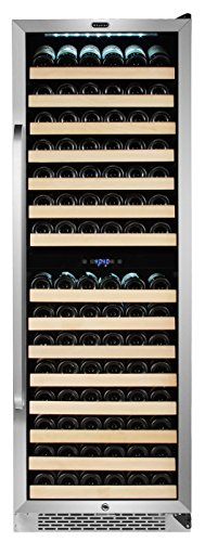 Large Capacity Wine Refrigerator Rack for Open Bottles and LED
