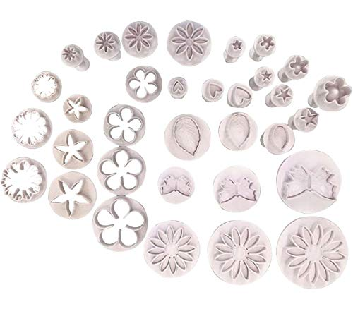 Cake Decoration Tools White Mold Set Pastry Frosting Smoothing Equipment Accessories