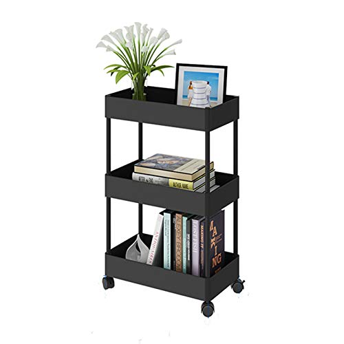 Rolling Organizer Cart with Shelves
