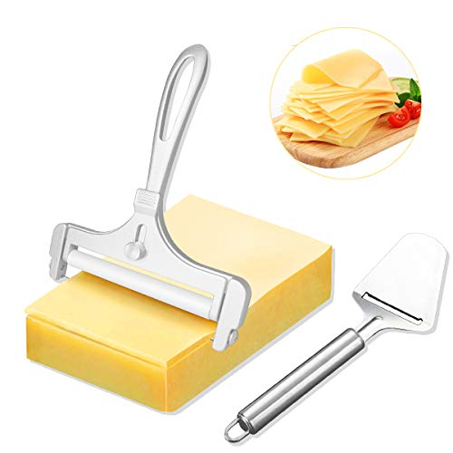 Adjustable Thickness Cheese Slicers with Wire