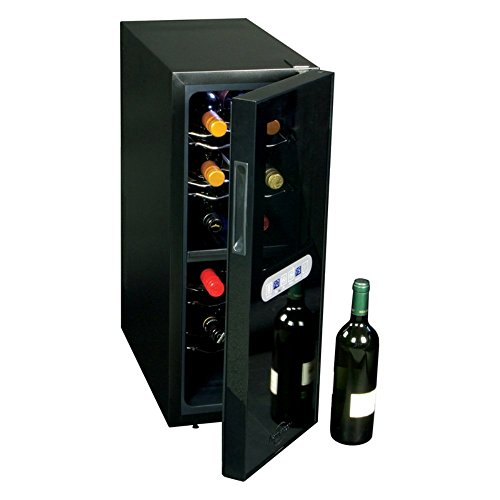 Dual Zone Thermoelectric Cooler 12 Bottle Capacity