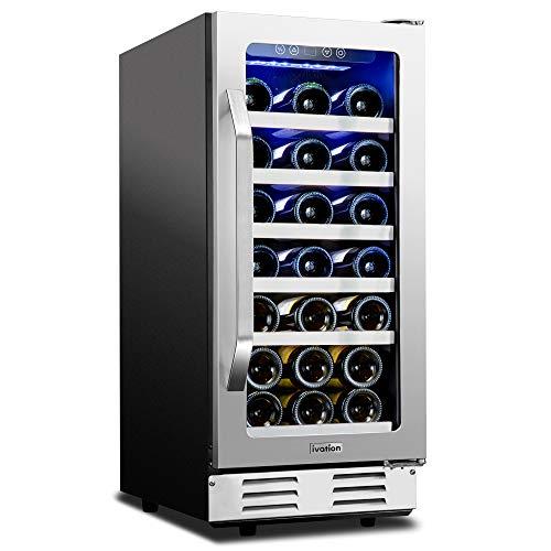 Built-In Compressor Wine Cooler/Cellar Undercounter Wine Fridge