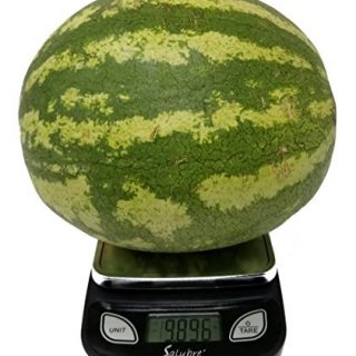 Digital Food Scale / Kitchen Scale / Postal Scale – Weigh in Pounds, Ounces, Grams - Precise Weight Scale 1g (0.01oz) to 11 lbs - Batteries Included