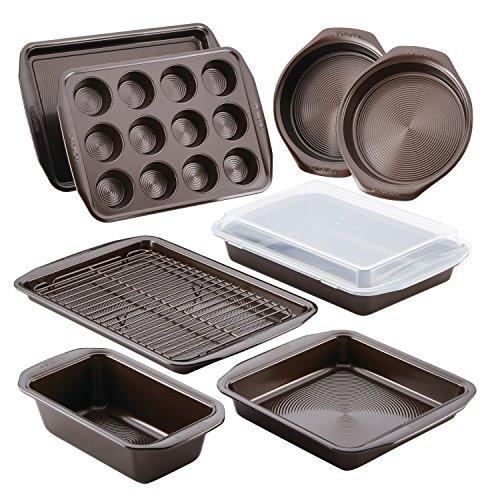 Nonstick Bakeware Set with Nonstick Bread Pan