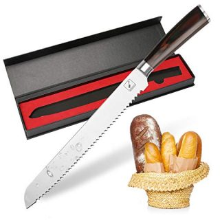 Bread Knife,10-Inch Imarku Pro serrated knife