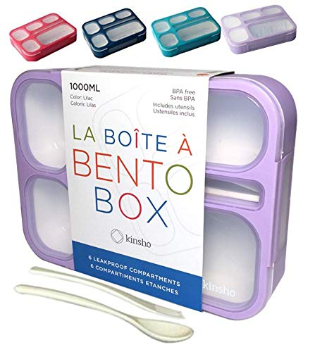 6 Compartment Leakproof School Bentobox or Portion Container Boxes