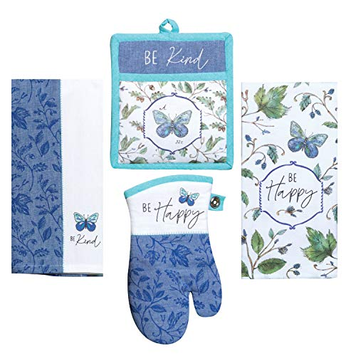 Kay Dee Designs Butterfly Themed Kitchen Linen Set