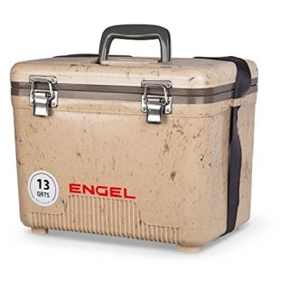 ENGEL Cooler/Dry Box 13 Qt - Grassland