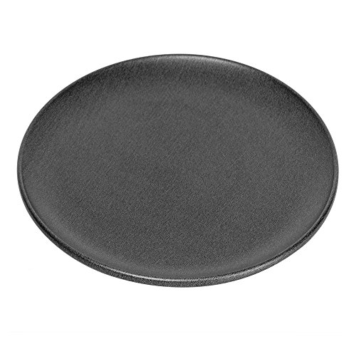 """G & S Metal Products Company ProBake Teflon Nonstick Pizza Pan, 12"""", Charcoal"""