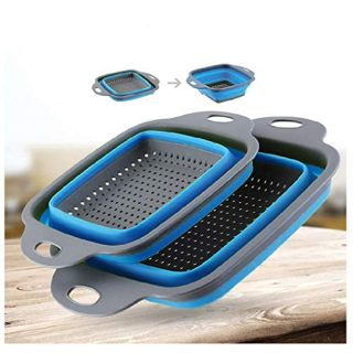 Drain Basket Foldable for Kitchen