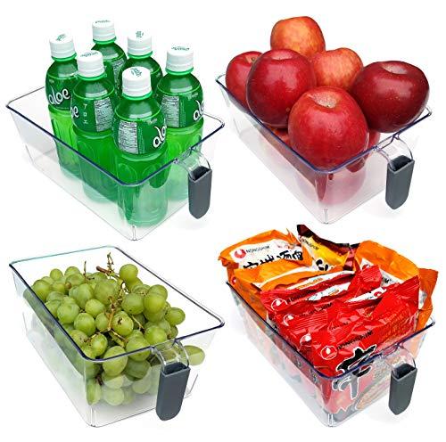 Refrigerator organizer containers