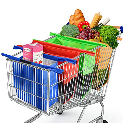 Reusable Trolley Bags For Shopping Cart