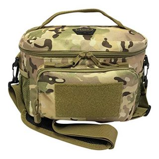 Thermal Lunch Box Tote with MOLLE/PALS Webbing