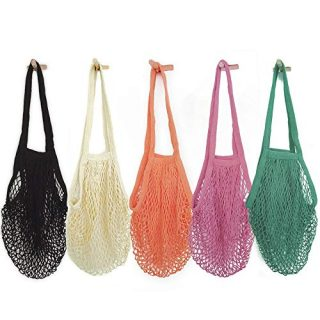 Mesh Bags Reusable Cotton Mesh Grocery Bags