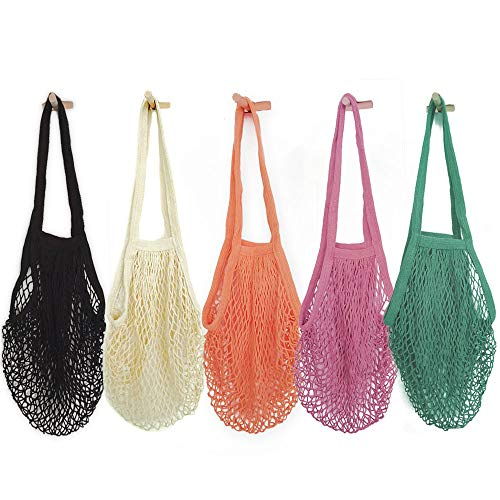 Mesh Bags Reusable Cotton Mesh Grocery Bags