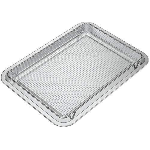 only fire Stainless Steel Baking Sheet with Rack Roasting Pans for Smokers and Pellet grills