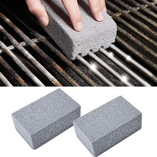 4Pcs BBQ Grill Cleaning Brick Block Barbecue Cleaning Stone BBQ Racks Stains Grease Cleaner BBQ Tools Kitchen Gadgets decorates