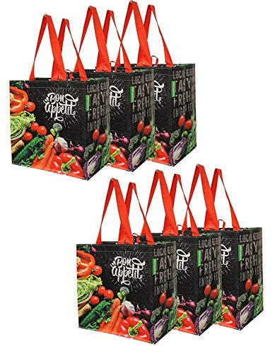 Reusable Grocery Shopping Bags Extremely Durable