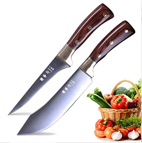 Butcher Knife Set Boning Knife Set Chef Knife Kitchen Knives Sharp Blade Slicer Stainless Steel Kitchen Knives Cleaver Knife Cooking Knife Cutter Meat Slicing knife Slaughter Knife Utility Knife Beef