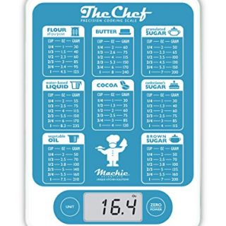 Scale Digital Kitchen Scale Grams and Oz Easy Precision