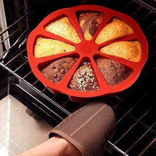 8-Hole Round Silicone Cake Mold Kitchen Diy