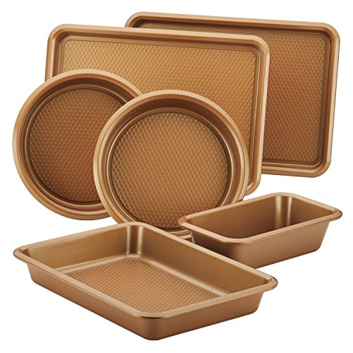 Nonstick Bakeware Set with Nonstick Cookie Sheet