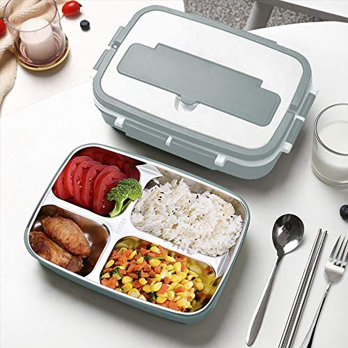 Stainless Steel Lunch Containers for Kids and Adults