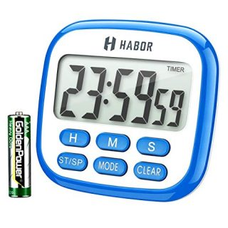 24-Hours Digital Timer [Multifunctional] with Clock for Cooking