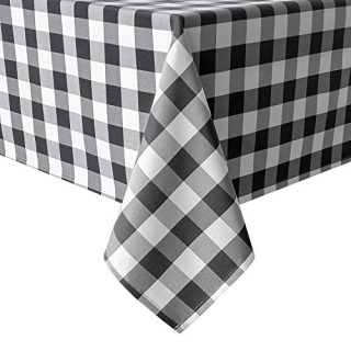 Hiasan 60 x 120 Inch Checkered Tablecloth Rectangle