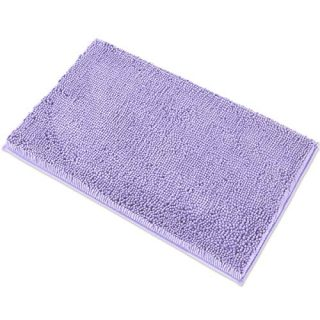 "MAYSHINE Chenille Bath Mat for Bathroom Rugs 32"" x20"", Extra Soft and Absorbent Microfiber Shag Rug, Machine Wash Dry- Perfect Plush Carpet Mats for Tub, Shower, and Room- Lavender"