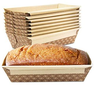 Paper Bread Loaf Pan Disposable Corrugated Recyclable Bakery