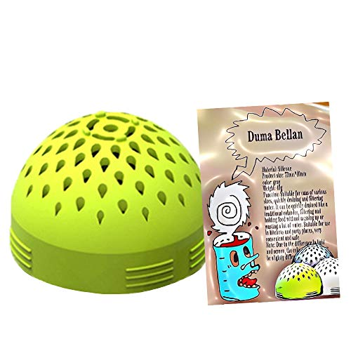 Kitchen Colander, Multi-Use Mini Colander, A Colander Strainer For Draining Chickpeas And Canned Food, Silicone, Portable Colander Filter. (green)