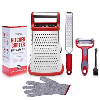 Grater Zester Peeler Stainless Steel Kitchen Tools Set