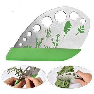 Leaf Herb Stripper, Stainless Steel Kitchen Herb Stripper Tool