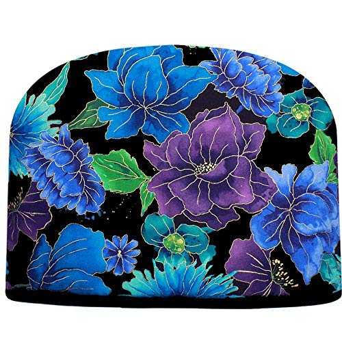 Blue Moon Crystal Blue & Purple Persuasion Tea Cosy Double Insulated Teapot Tea Cozy Keeps Tea Warm for Hours - Ships The Same Business Day, Order by 10 AM Pacific Time