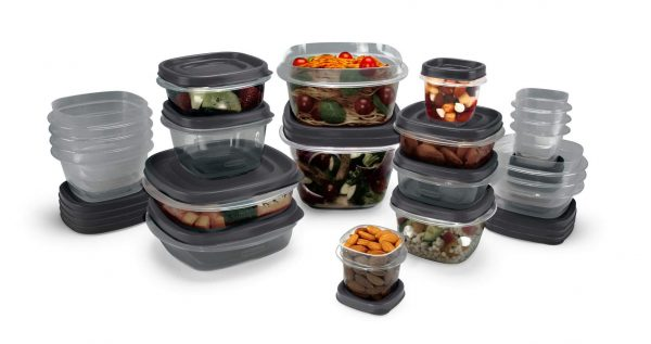 Food Storage Containers with SilverShield Antimicrobial