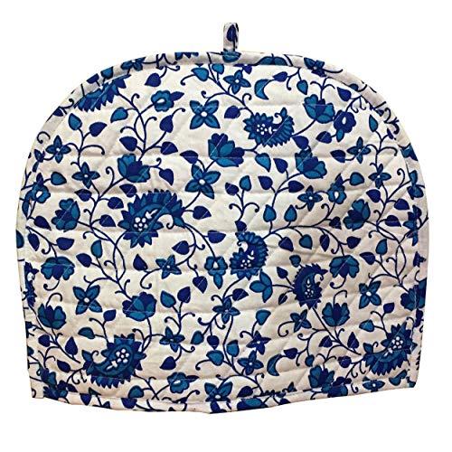 ARTSZONIA Blue Tea Cozy Creative Cotton Tea Cosy Indian Mandala Tea Cozies Tea Pot Cover