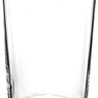 Bormioli Rocco Bodega Collection Glassware – Set Of 12 Maxi 17 Ounce Drinking Glasses For Water, Beverages & Cocktails – 17oz Clear Tempered Glass Tumblers, Transparent