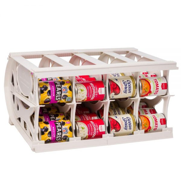 Shelf Reliance Pantry Can Organizers - Customizable Can Lengths