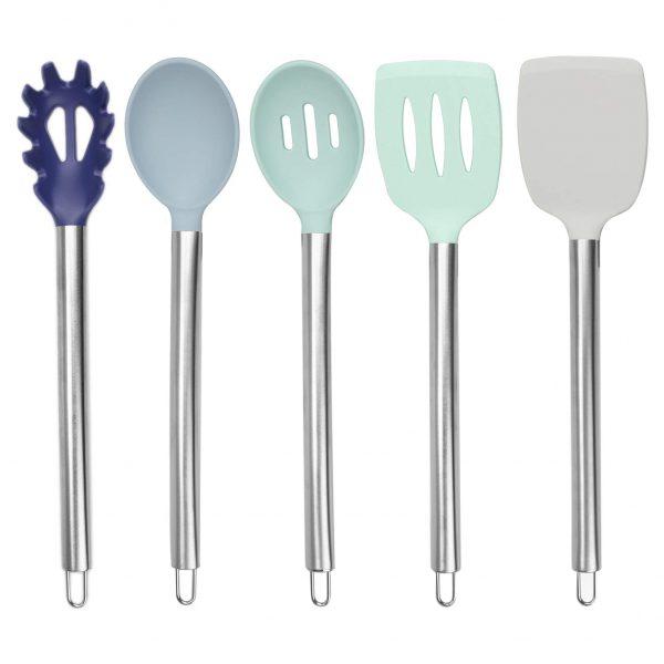 Easy to Clean Silicone Kitchen Utensils